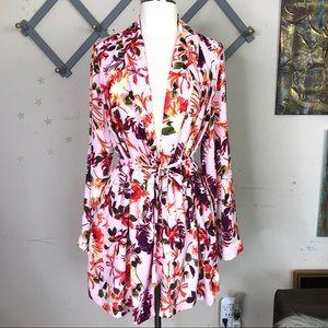 Lane Bryant wrap kimono duster robe